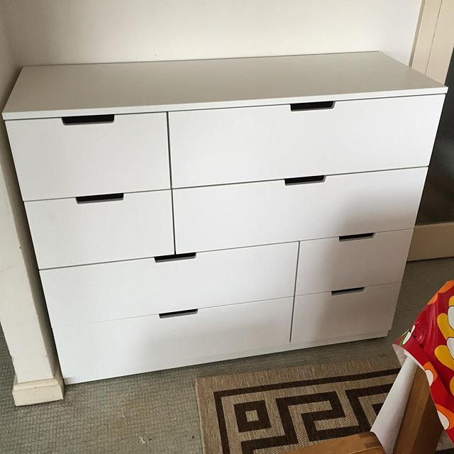 ikea nordli chest assembly hove flat pack dan. Black Bedroom Furniture Sets. Home Design Ideas