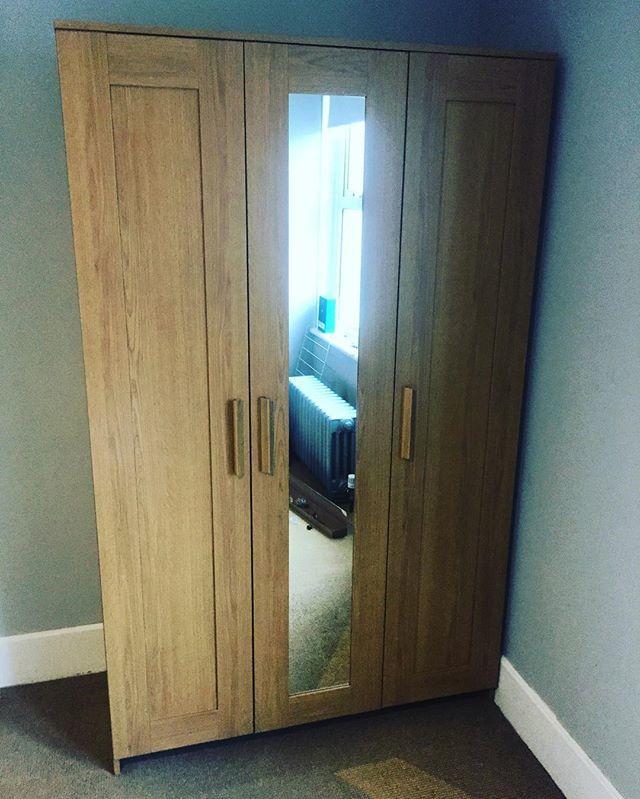 Ikea Brimnes 3 Door Wardrobe Assembly Brighton Flat