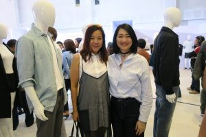 Uniqlo Geri Sia and Jane