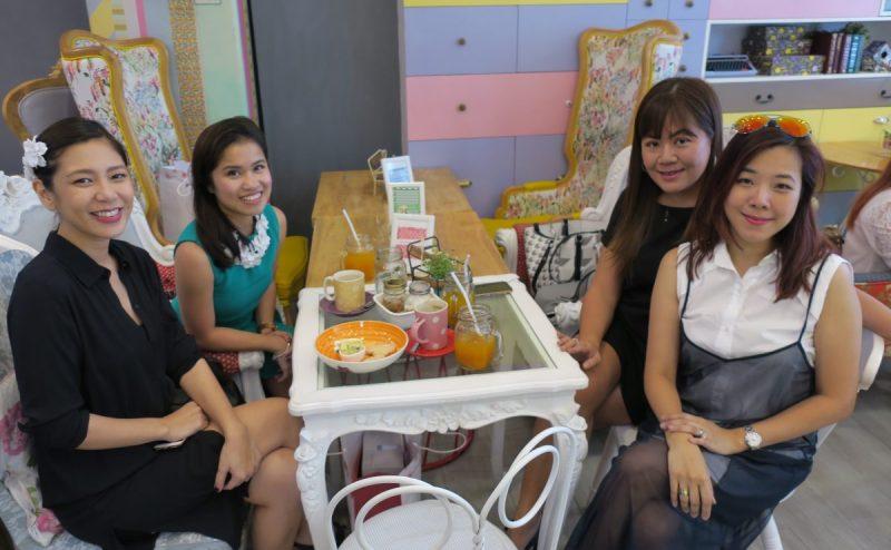 Kim Palanca-Reyes, Ronna Capili-Bonifacio, Michelle Asense, and Jane
