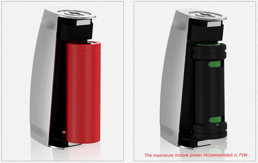 Wismec Presa Tc100w Box Mod Replaceable 18650 Cells