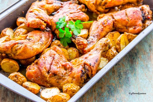 Cajun Spiced Chicken And Potato Bake Flavor Quotient