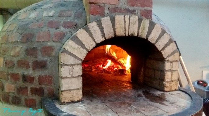 Wood fired oven Il Mercantino