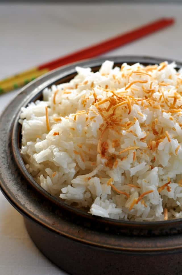 Thai Coconut Rice. Turns out perfectly every time. from Flavour and ...