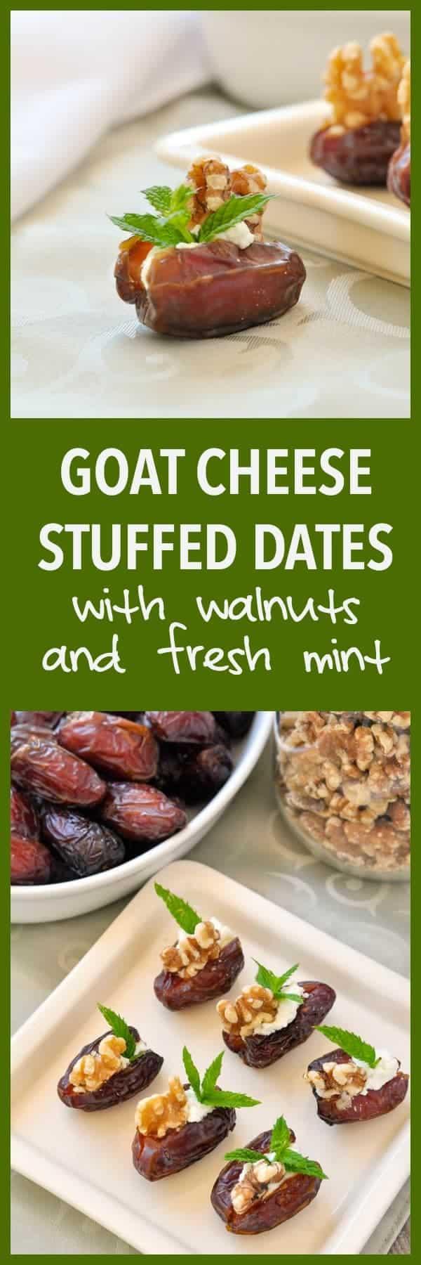Simply Romanesco: Goat Cheese Stuffed Dates