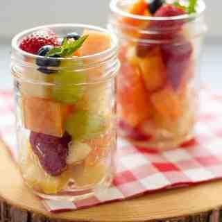 boozy fruit salad