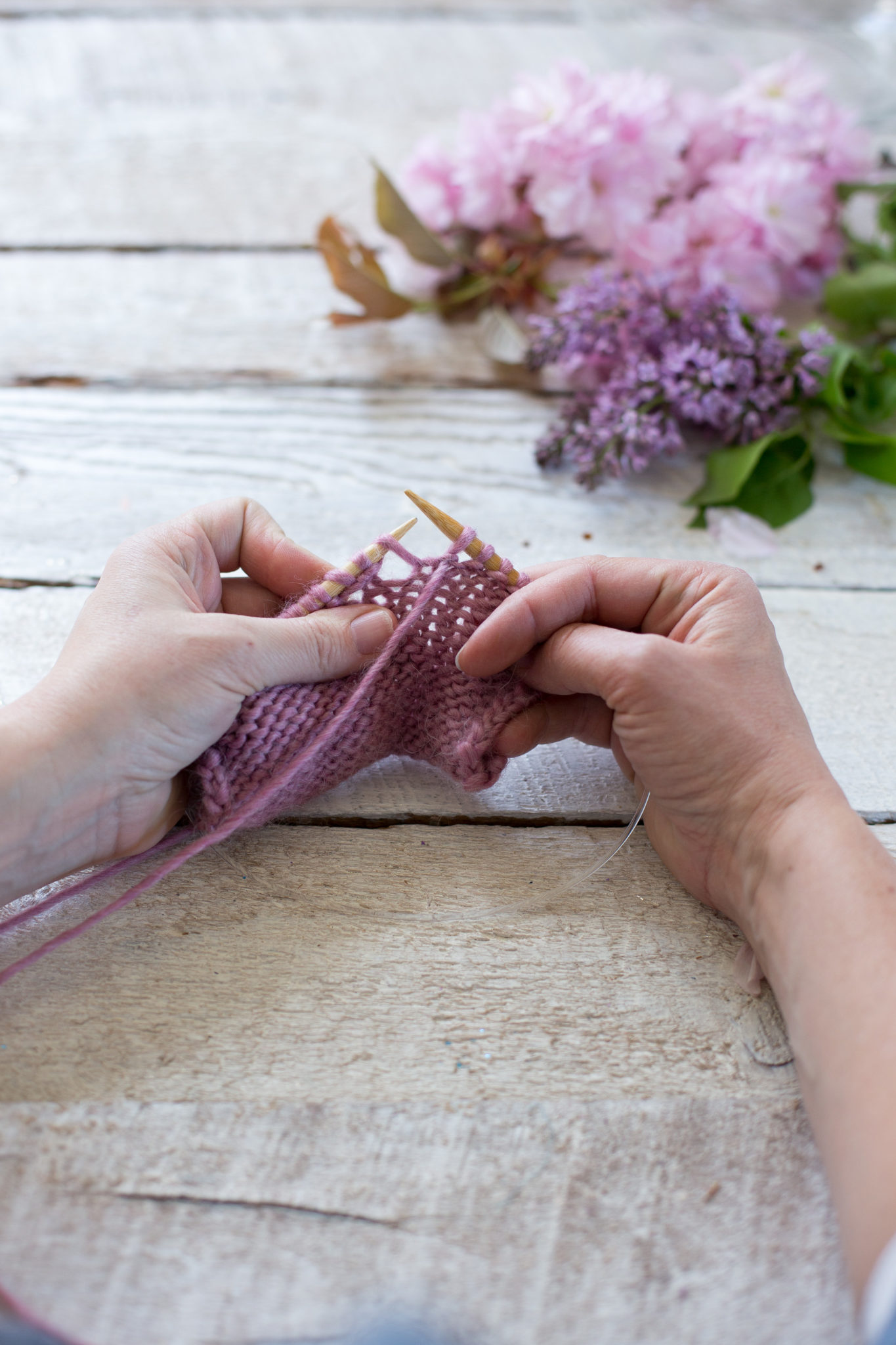 Knitting Adding Extra Stitches : Fixing Common Knitting Mistakes - Flax & Twine