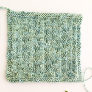 double slip stitch trellis-1709