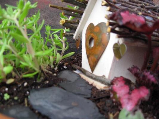 Jeanie Merritt's Tiny little heart house
