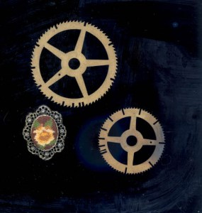 Gears and Brooch