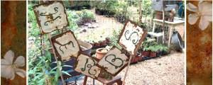 Rusty 'Herbs' sign