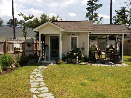 Kim Trudo's cottage garden.