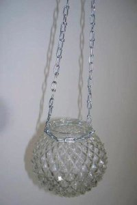 Fairy light chain attached