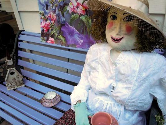Beth Nogle's garden lady