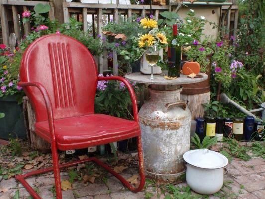 Jamie Peterson's newish chair