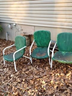 Sue Norton's old chairs