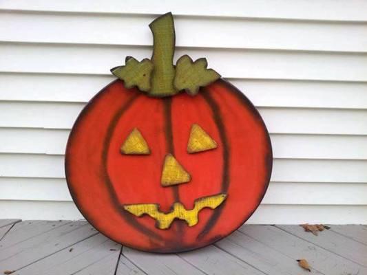 Kathy Sine's dish-y pumpkin