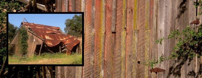 Old barn in the Sierra foothills