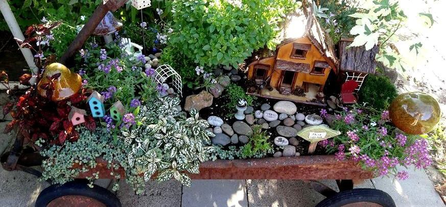 Create a fun fairy garden with Jean's clever new ideas