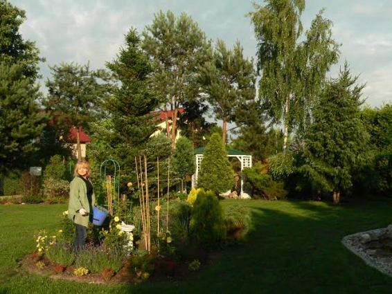 Bogdan and Dorota's garden