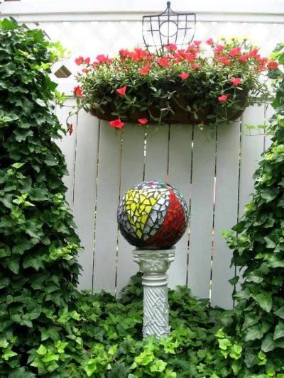Charlette Clark's latest mosaic project