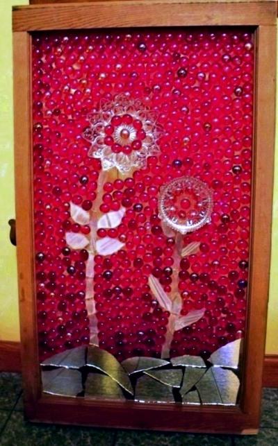 Sue Gerdes rosy red window