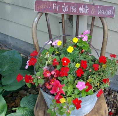 Debbie McMurry's Red, White & Blooms