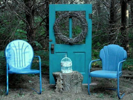 Jeanne Sammons's door into the forest