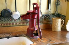 Our great-grandmothers had hand pumps