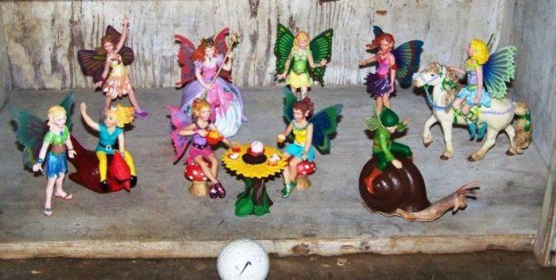 The fairies Sue Jordan found