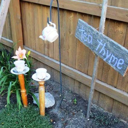 In Jeanie Merritt's garden, it's Tea Thyme