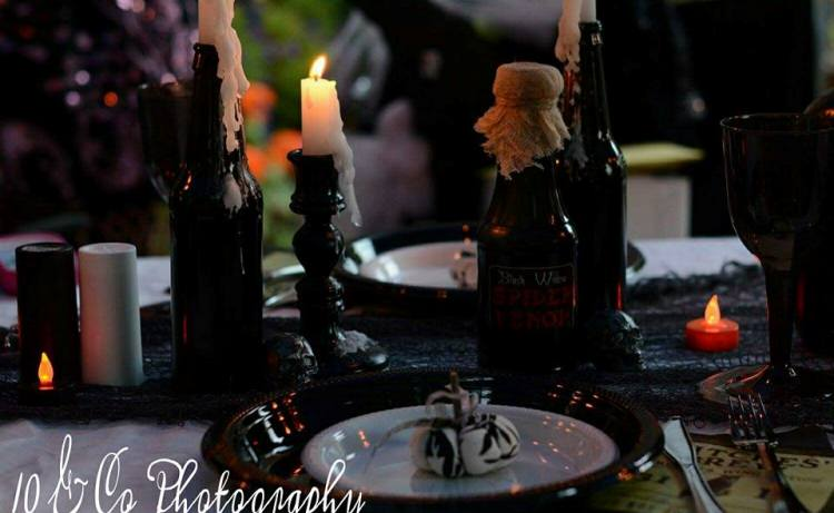 Halloween Garden Party, Flea Market Style!