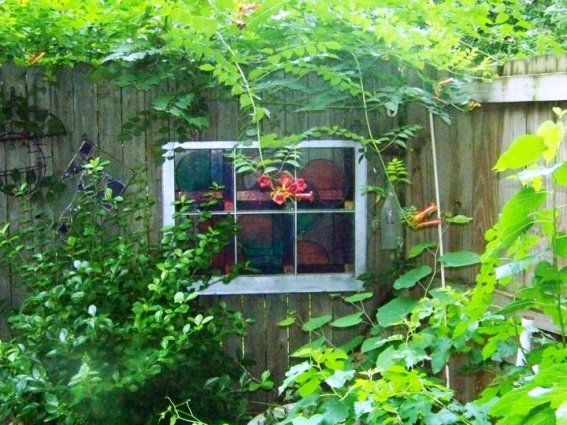 Angi Thornton upcycled windows