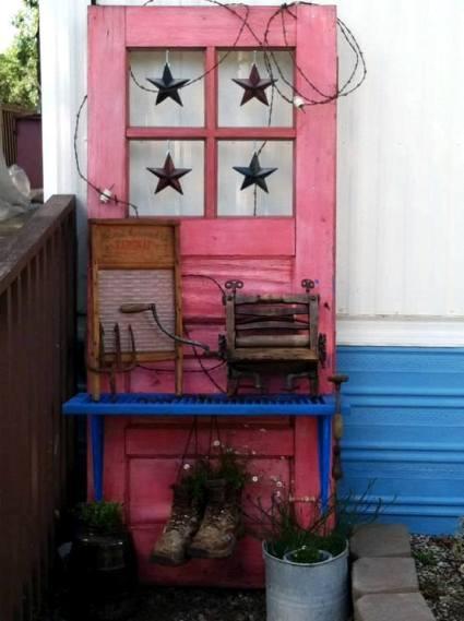 Josie Laine's starry door