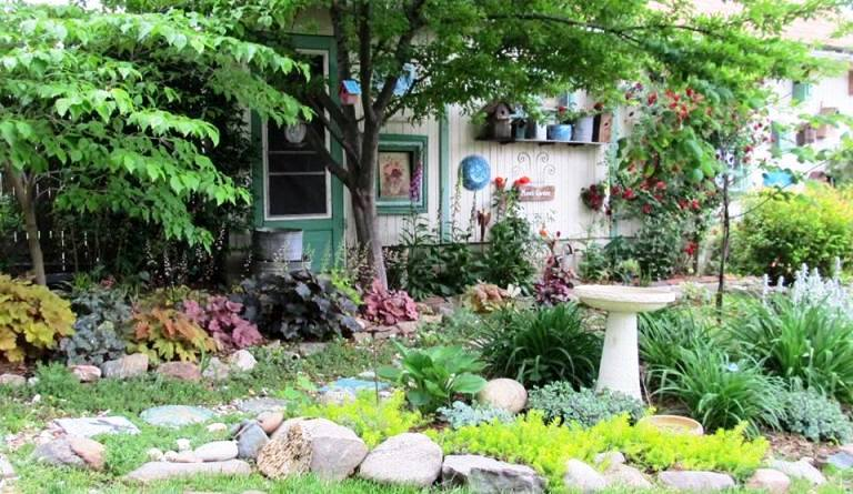 A snapshot of my Flea Market garden