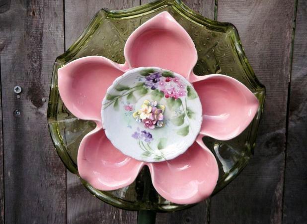 Plate flower