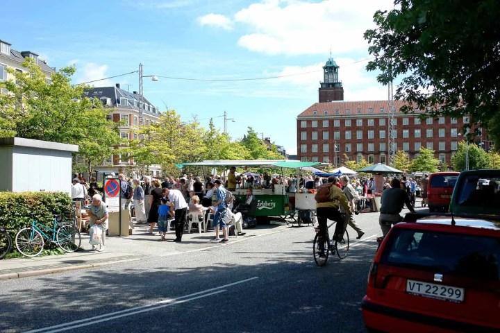 Flea market frederiksberg loppemarked