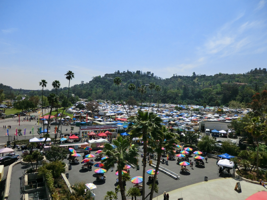 Rose Bowl Flea Market - (c) by HappyMac