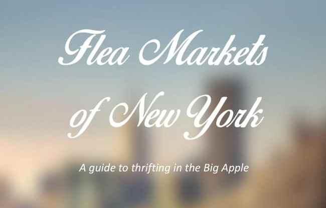 flea markets NYC cover