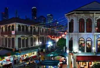 Chinatown Panorama Singapore