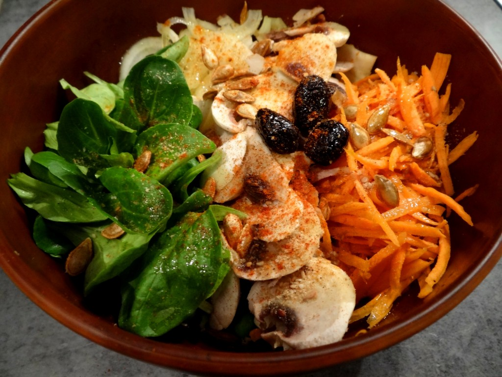 Buddha bowl, ou bol repas