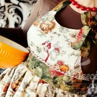 Thankful Apron Pattern - Free apron pattern and tutorial