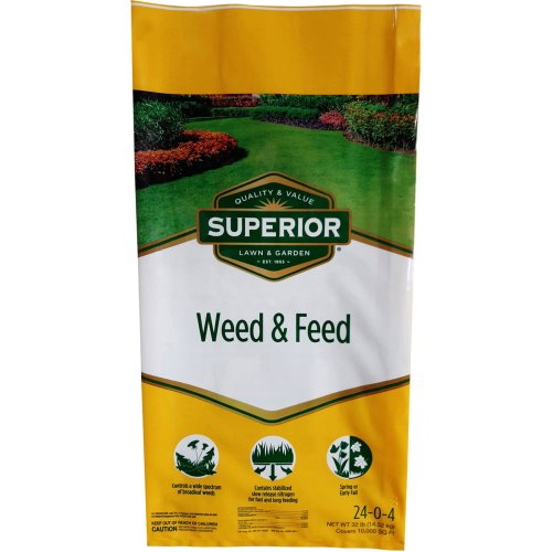 Medium Of Weed And Feed Spray
