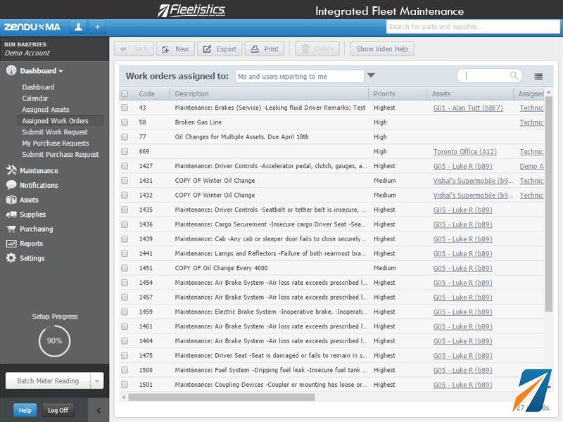 Fleet-Maintenance-Work-Order-Assignments GPS Tracker, Car Track