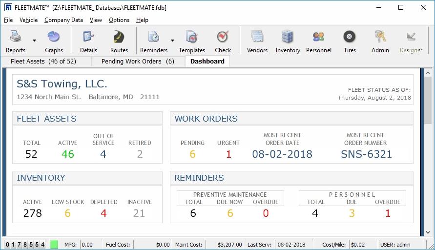 Fleet Maintenance Software  Vehicle Maintenance Software  CMMS