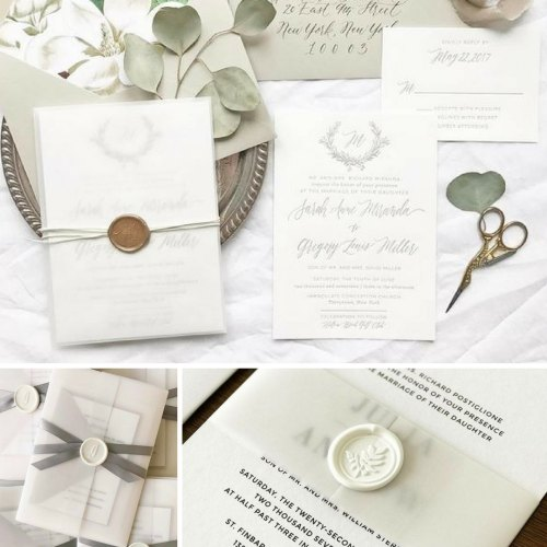 Medium Crop Of Pictured Wedding Invitations