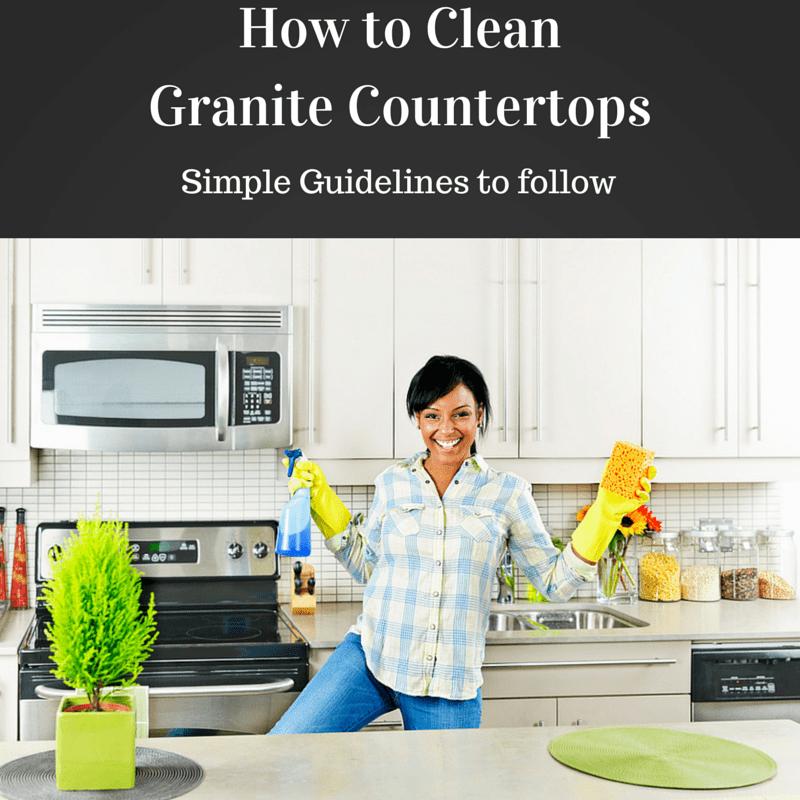 To Clean Granite Countertops