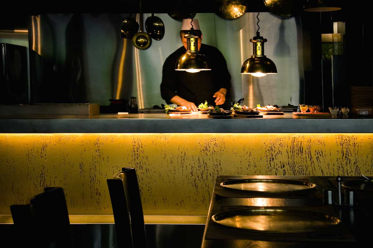 Under Counter Restaurant Lighting Kitchen
