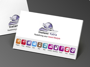 Line Printing Business Cards