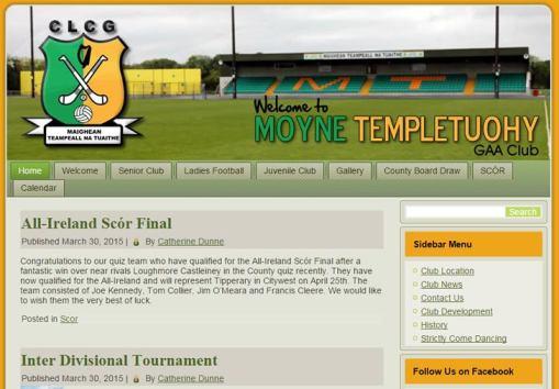 Moyne Templetuohy GAA